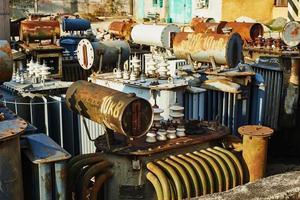 högspänningsutrustning foto