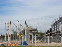 elektrisk kraftstation. foto