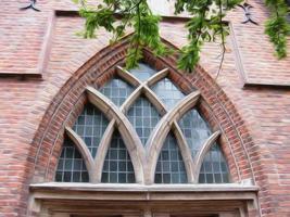 kyrkafönster foto