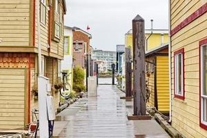 victoria, bc, flytande community foto
