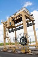 hydroelektrisk dam foto