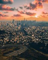 stadsbild av San Francisco foto