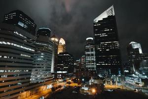 staden höghus foto