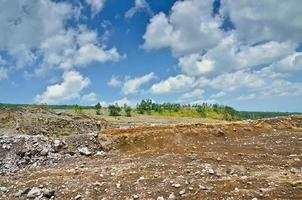 vulkan merapi på ön Java, Indonesien foto