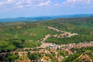 cidade vista do alto foto
