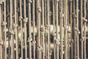 persienner gjorda av rep foto