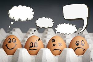 tanke ballong ägg karaktärer foto
