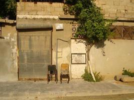 gamla staden i Hama, Syrien foto