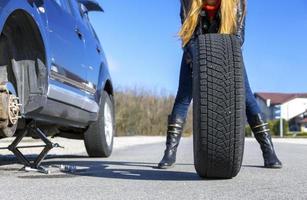 oväntad olycka på vägen