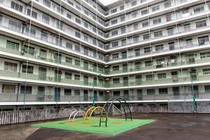 offentliga bostäder i Hong Kong foto