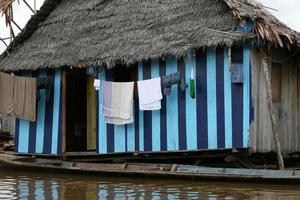 tvätt i Belen - Peru foto