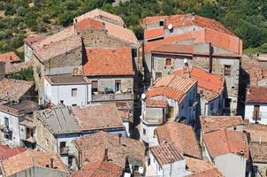 panoramautsikt över valsinni. basilicata. Italien. foto
