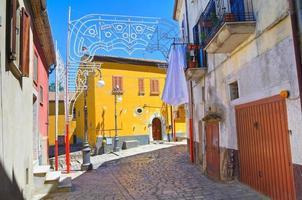 bakgata. Pietragalla. basilicata. Italien. foto