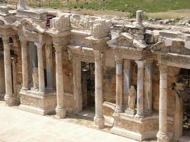 forntida teater foto