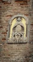 religiös staty venice foto