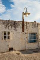 gamla andalusiska hus foto