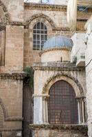 Jerusalem, den heliga gravkyrkan foto