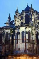 gotisk dekorera kyrkan urban foto