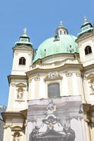 st. Peterskyrkan (peterskirche) i Wien foto