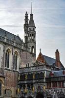 basilika av heligt blod, bruges, Belgien foto