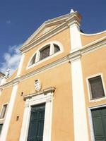 kyrka i ajaccio (korsika) foto