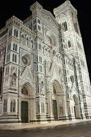 firenze - duomo och campanile foto