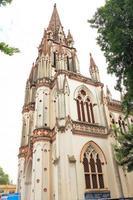 vår lady of lourdes kyrka, tiruchirappalli, trichy tamil nadu in foto