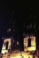 kyrka i Prag Tjeckien foto