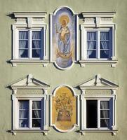 historisk fasad foto