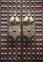 marockansk dörr foto