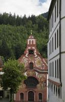 barock kyrka foto