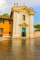 kyrkan St Mary i Palmis i Rom, Italien foto