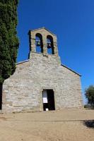 trasimeno sjö - isola maggiore, kyrkan san michele foto