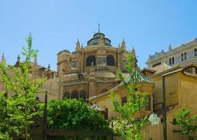 katedralen i Granada, Andalusien, Spanien foto