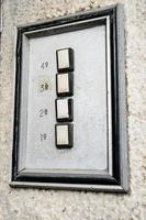 gammal dörrtelefon foto