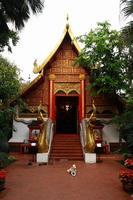 tempel i Chiang Rai foto