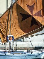gamla segelbåtar foto