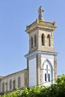 klocktornet i San Esteban kyrka foto