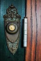 vintage dörrklocka foto