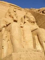 stora tempel för ramesses ii foto