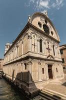 santa maria dei miracoli kyrka i Venedig foto