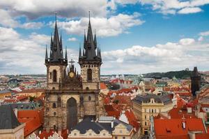 fasad tyn katedral foto