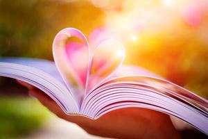 kärleksbok foto