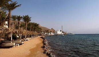 stranden på Röda havet foto
