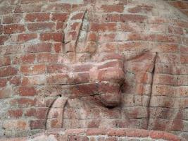 sovande buddha staty foto