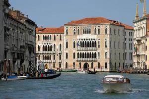palats i Venedig, Italien foto