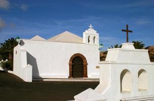 Spanien, Kanarieöarna, Lanzarote, kapell foto