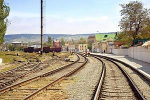 järnvägsstation feodosia foto