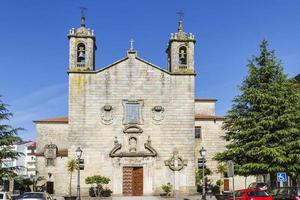santa eulalia av arealonga kyrka foto