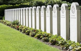 militär cementering i Holland foto